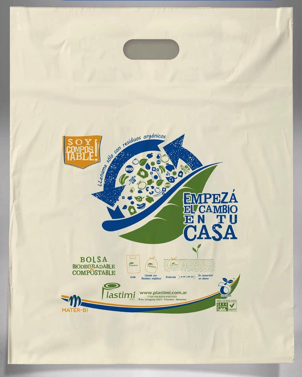 b12647bdd Plastimi pone sus eco-bolsas compostables para sumarse contra la cruzada de  la basura - Selva AdentroSelva Adentro
